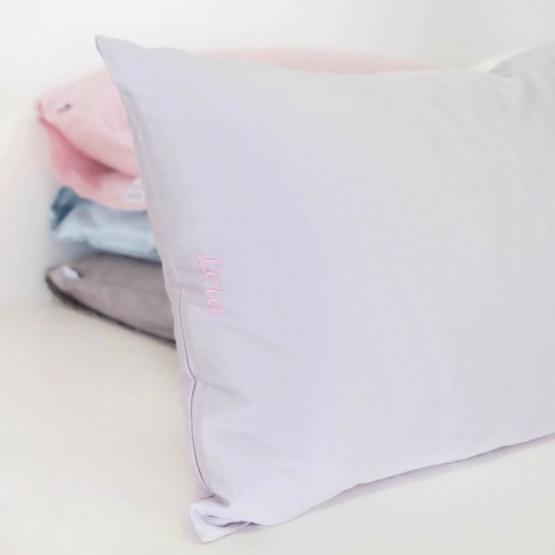 500-Thread-Count PIMA Cotton Sateen Pillow - Hyacinth