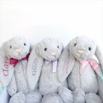 Bashful Bunny - Silver (Sizes Available)