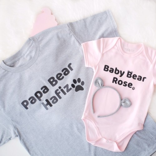 Father's Day - Papa & Baby Bear Set (3 colours)