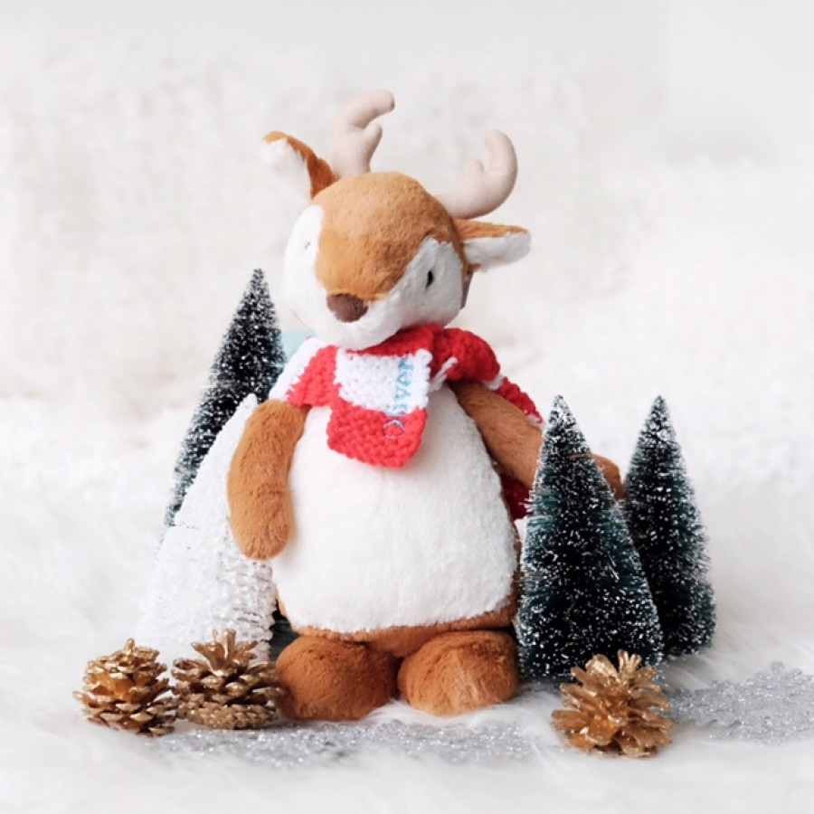 Holiday '18 - Bobkin Reindeer with Scarf