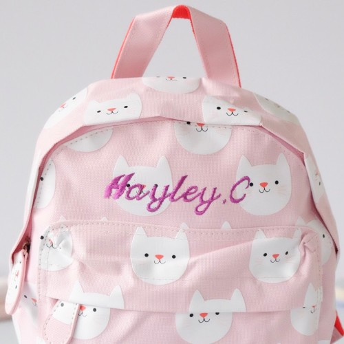 Blushing Cat Mini Backpack (Out of Stock)
