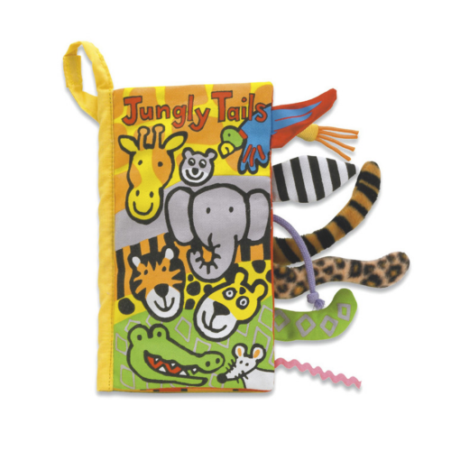 Jungly Tails Soft Crinkle Book