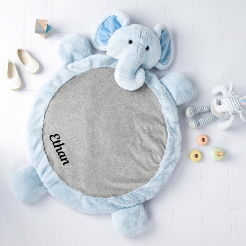 Ezra Elephant Plush Playmat