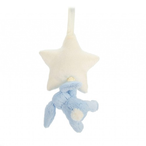 Musical Pull - Bashful Blue Bunny Star