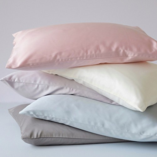 500-Thread-Count PIMA Cotton Sateen Pillow - Rose