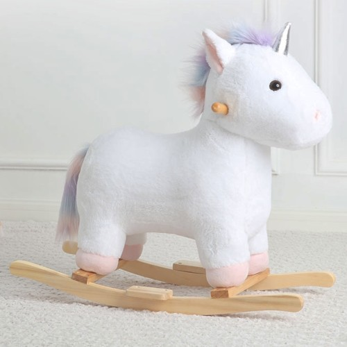 Elsie Unicorn Plush Rocker