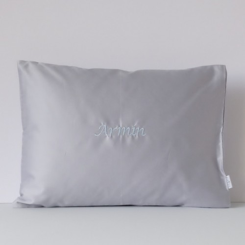 500-Thread-Count PIMA Cotton Sateen Pillow - Mist