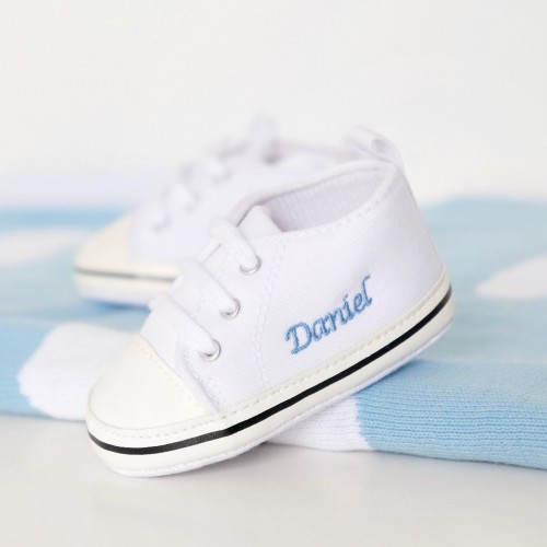 Baby Sneakers - White (Out of Stock)
