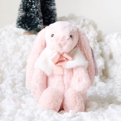 Holiday '18 - Bashful Blush Snow Bunny (Small)