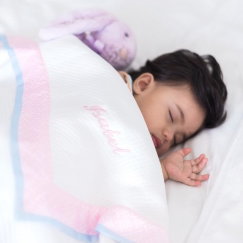 Soothing Baby Blanket - Pink Dusk
