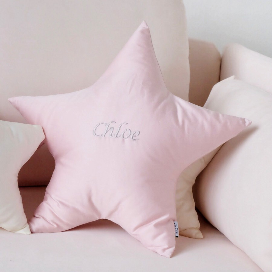 Wishing Star PIMA Cotton Cushion - Large (2 colours available)
