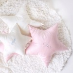 Wishing Star PIMA Cotton Cushion - Small (2 colours available)