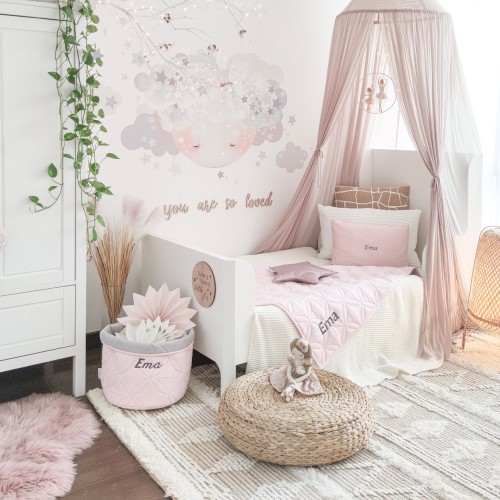 Quilted Store Away - Petal Pink