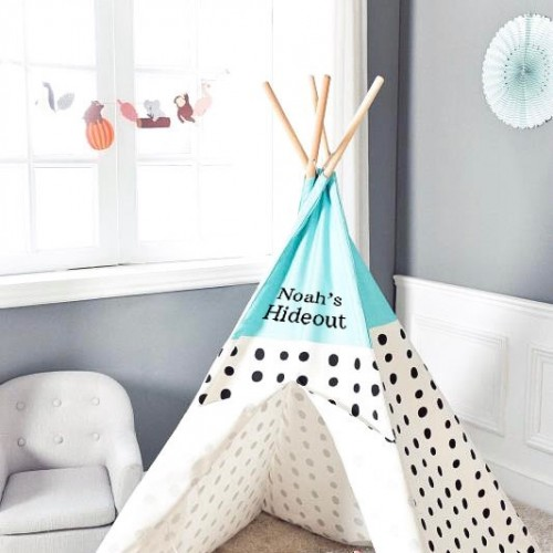 Under the Stars Teepee - Bubble Blue