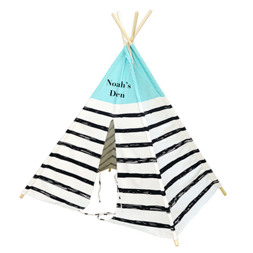 Under the Stars Teepee - Nautical