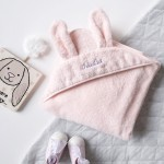 Blush Bunny Hooded Towel (Out of Stock)